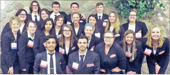 Education Academy Students at State FCCLA 2017