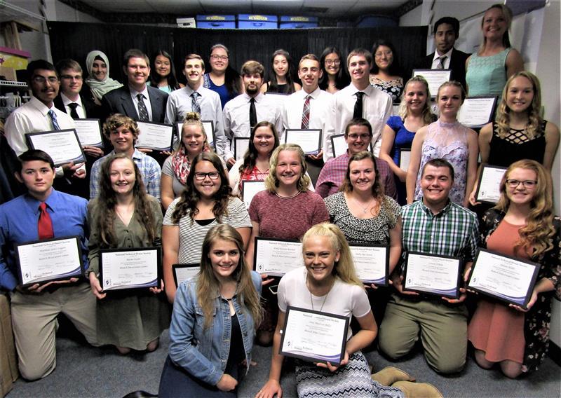 NTHS 2018 Inductees