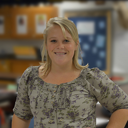 Teacher Smiling
